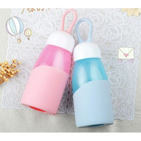 Botol Minum Mini Lanyard Lucu 400ml - Blue - 2