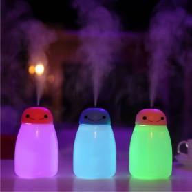 Taffware Baymax Mini Humidifier Aromatherapy Oil Diffuser LED RGB USB 400ml - HUMI H803 - Blue - 5
