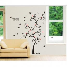 Sticker Wallpaper Dinding Family Tree - Black - 3
