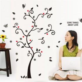 Sticker Wallpaper Dinding Family Tree - Black - 4