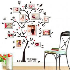 Sticker Wallpaper Dinding Family Tree - Black - 5
