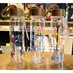 Botol Minum Kaca 380ml - Transparent - 7