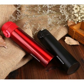One Two Cups Tumbler Botol Minum Thermos 400ml - BT417-0 - Red - 6