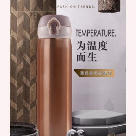 One Two Cups Tumbler Botol Minum Thermos 400ml - BT417-0 - Red - 14