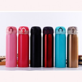 One Two Cups Tumbler Botol Minum Thermos 400ml - BT417-0 - Red - 15