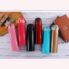 One Two Cups Tumbler Botol Minum Thermos 400ml - BT417-0 - Red - 16
