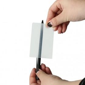 Sulap Kartu Distrosi Visual - Transparent - 3