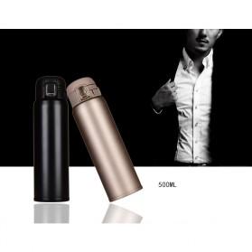 Botol Minum Termos 500ml - Black - 2