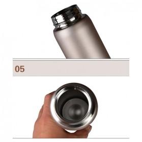 Botol Minum Termos 500ml - Black - 8