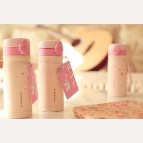 Starbuk Sakura Tumbler Botol Minum 350ml - Pink - 3