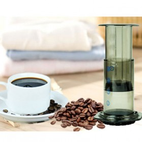Mesin Kopi & Teh - AEROPRESS Set Portable French Press Coffee Maker - T35066 - Brown