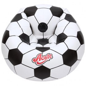 Aoste Kursi Bean Bag Angin Inflatable Motif Bola