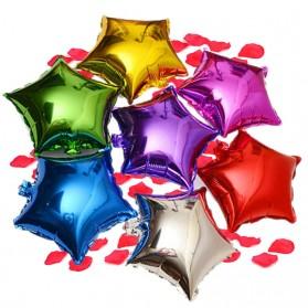 Balon Pesta Model Bintang isi 10 PCS - Golden - 3