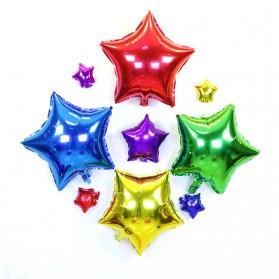 Balon Pesta Model Bintang isi 10 PCS - Golden - 5