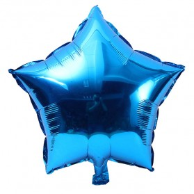 Balon Pesta Model Bintang isi 10 PCS - Blue - 1