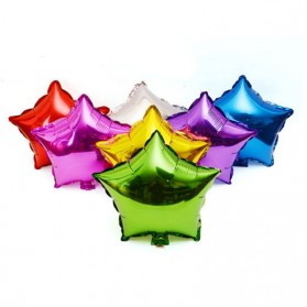 Balon Pesta Model Bintang isi 10 PCS - Blue - 4