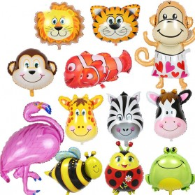 Balon Pesta Model Monkey Head 10 PCS - 2