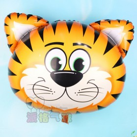 Balon Pesta Model Tiger Head 10 PCS