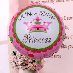 Balon Pesta Model Birthday Boy & Girl 10 PCS - Pink - 3