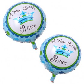 Balon Pesta Model Birthday Boy & Girl 10 PCS - Blue