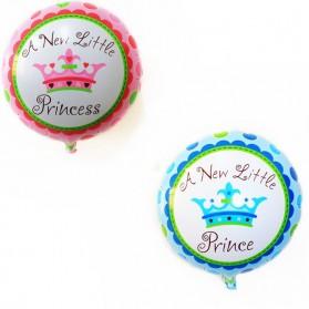 Balon Pesta Model Birthday Boy & Girl 10 PCS - Blue - 5