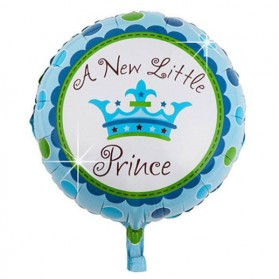 Balon Pesta Model Birthday Boy & Girl 10 PCS - Blue - 6