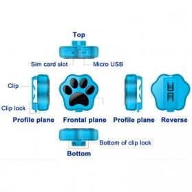 GPS Tracker Peliharaan - V30 - Black - 7