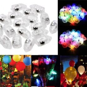 WuFang Lampu Balon LED Multifungsi 50 PCS - XX50 - White - 2