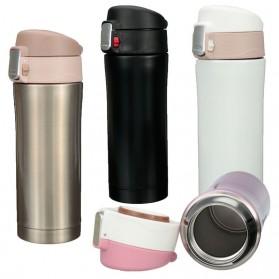 Botol Thermos Insulasi Stainless Steel 500ML - Black - 2