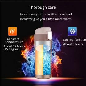 Botol Thermos Insulasi Stainless Steel 500ML - Black - 4