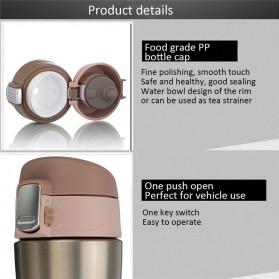 Botol Thermos Insulasi Stainless Steel 500ML - Black - 5