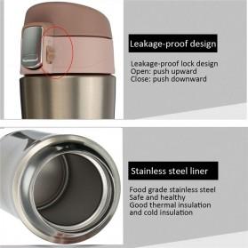 Botol Thermos Insulasi Stainless Steel 500ML - Black - 6