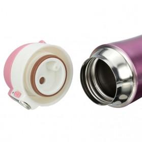 Botol Thermos Insulasi Stainless Steel 500ML - Black - 8