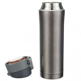 Botol Thermos Insulasi Stainless Steel 500ML - Black - 9