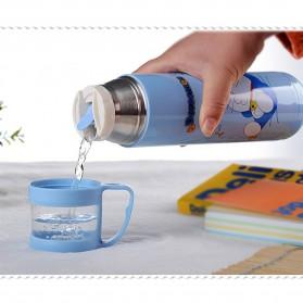 Botol Thermos Kartun Stainless Steel 350ML - Blue - 6