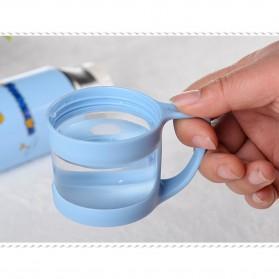 Botol Thermos Kartun Stainless Steel 350ML - Blue - 8
