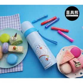 Botol Thermos Lucu Stainless Steel 500ML - Pink - 3