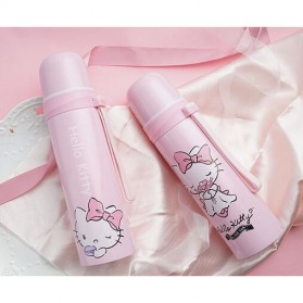 Botol Thermos Lucu Stainless Steel 500ML - Pink - 4