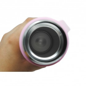 Botol Thermos Lucu Stainless Steel 500ML - Pink - 5