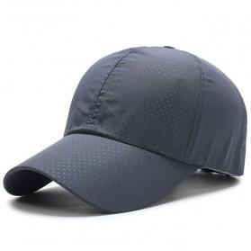 Topi Baseball Snapback Polkadot - Dark Gray