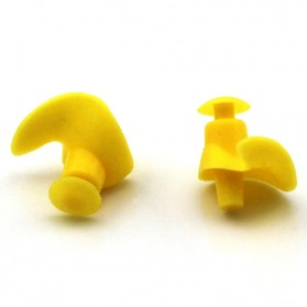 DONG ZHUR Penutup Telinga Ear Plug Renang Anti Air - 00NT - Yellow - 3
