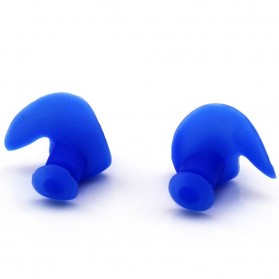 DONG ZHUR Penutup Telinga Ear Plug Renang Anti Air - 00NT - Blue - 3