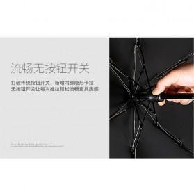 Fancytime Payung Mini Anti UV Umbrella - 6K - White/Red - 7