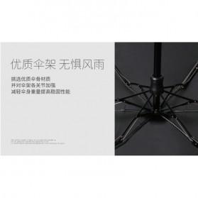 Fancytime Payung Mini Anti UV Umbrella - 6K - White/Red - 9