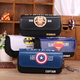 Kotak Pensil Superhero - Multi-Color