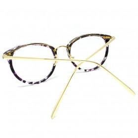Frame Kacamata Wanita Cat Eye - Purple - 3