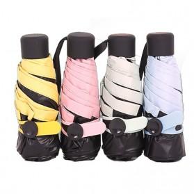 Payung Lipat Mini Portable - Pink - 3