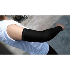 Sarung Lengan Olahraga - Size L - Black