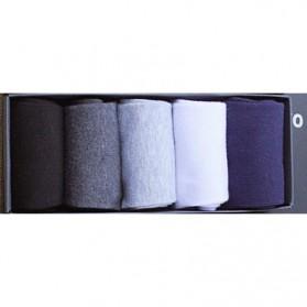 Kaos Kaki Pure Color - 5PCS - Multi-Color