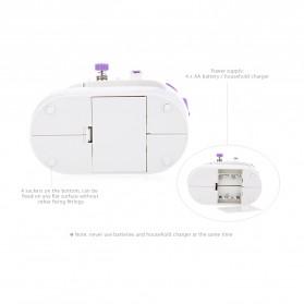 Mesin Jahit Elektrik Mini - Purple - 3